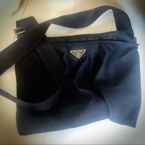Prada Nylon Crossbody Handbag